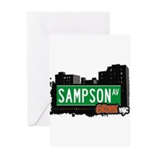 Sampson Ave Greeting Card