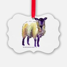 Black Face Sheep Ornament