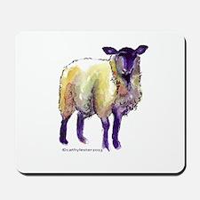 Black Face Sheep Mousepad