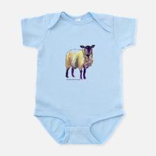 Black Face Sheep Infant Bodysuit