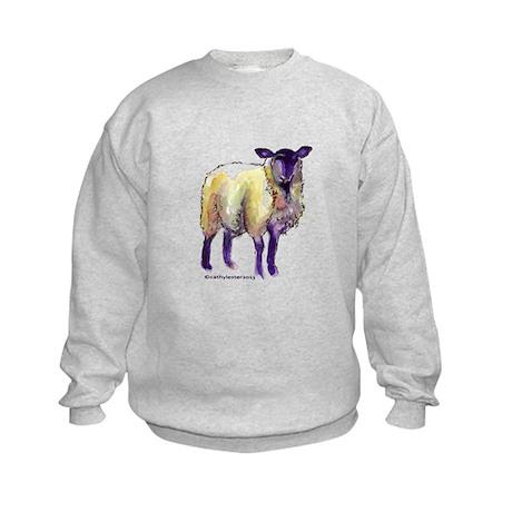 Black Face Sheep Kids Sweatshirt