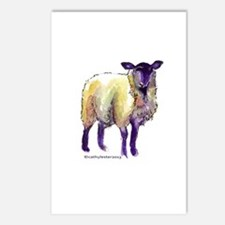 Black Face Sheep Postcards (Package of 8)