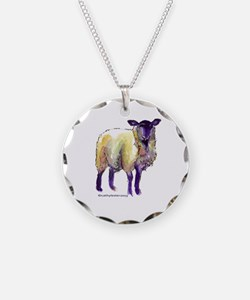 Black Face Sheep Necklace