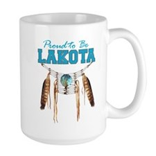 Proud to be Lakota Mug