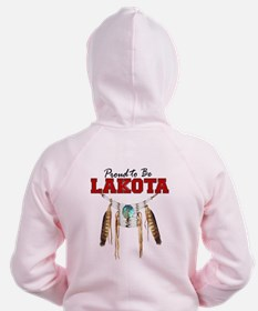 Proud to be Lakota Zip Hoodie