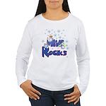 Winter Rocks Women's Long Sleeve T-Shirt