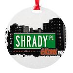 Shrady Pl Round Ornament