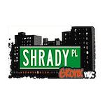 Shrady Pl 35x21 Wall Decal