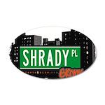 Shrady Pl 20x12 Oval Wall Decal