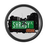 Shrady Pl Large Wall Clock