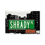 Shrady Pl Rectangle Magnet (100 pack)