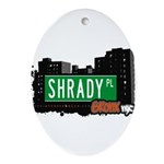 Shrady Pl Ornament (Oval)