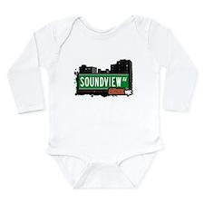 Soundview Ave Long Sleeve Infant Bodysuit