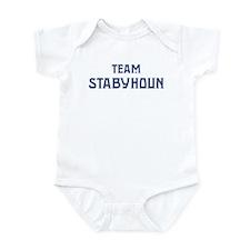 Team Stabyhoun Infant Bodysuit
