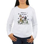 Winter is for the Birds Women's Long Sleeve T-Shir