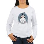 Snowman Women's Long Sleeve T-Shirt