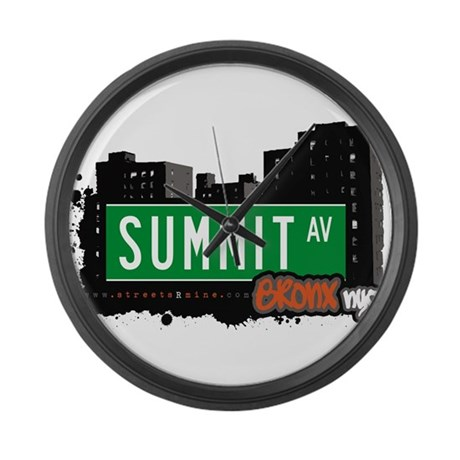 Summit Ave Large Wall Clock