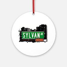 Sylvan Ave Ornament (Round)