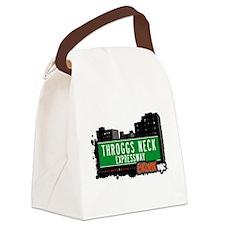 Throggs Neck Expwy Canvas Lunch Bag