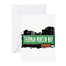 THURMAN MUNSON WAY Greeting Cards (Pk of 20)