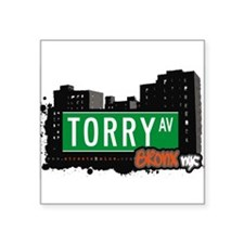 "Torry Ave Square Sticker 3"" x 3"""