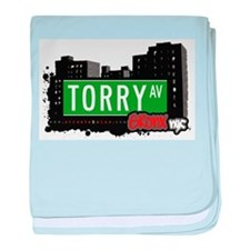 Torry Ave baby blanket