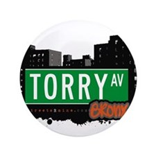 """Torry Ave 3.5"""" Button"""