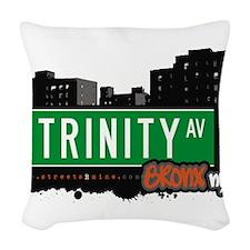 Trinity Ave Woven Throw Pillow