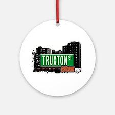 Truxton St Ornament (Round)