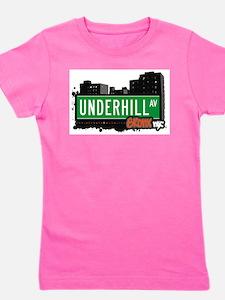 Underhill Ave Girl's Tee