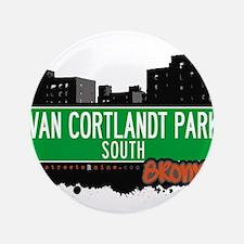 "VAN CORTLANDT PARK S 3.5"" Button"