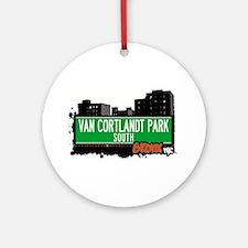 VAN CORTLANDT PARK S Ornament (Round)