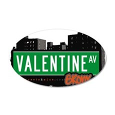 Valentine Ave Wall Decal