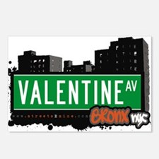 Valentine Ave Postcards (Package of 8)