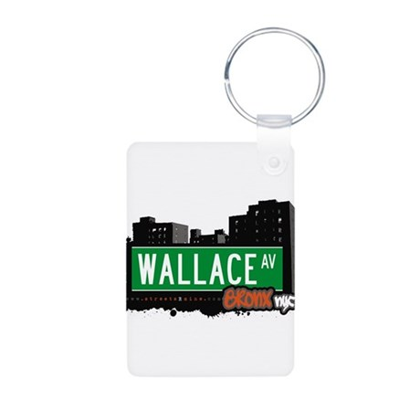 Wallace Ave Aluminum Photo Keychain