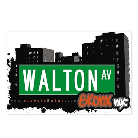 Walton Ave Postcards (Package of 8)