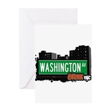 Washington Ave Greeting Card