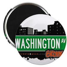 """Washington Ave 2.25"""" Magnet (100 pack)"""