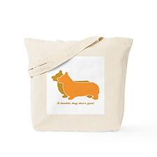 Corgi Double Dog Tote Bag