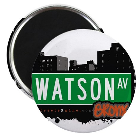 """Watson Ave 2.25"""" Magnet (100 pack)"""