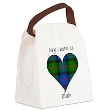 Heart - Blair Canvas Lunch Bag