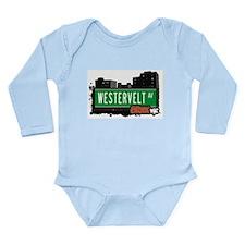 Westervelt Ave Long Sleeve Infant Bodysuit