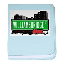 Williamsbridge Rd baby blanket