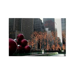 New York City Decorations Rectangle Magnet (100 pa