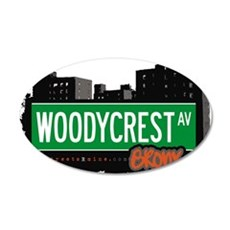 Woodycrest Ave Wall Decal