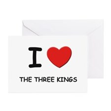 I love the three kings Greeting Cards (Package of