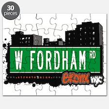 W Fordham Rd Puzzle