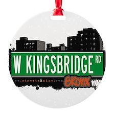 W Kingsbridge Rd Ornament