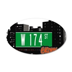 W 174 ST Wall Decal