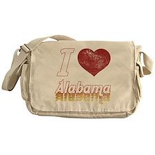I Love Alabama (Vintage) Messenger Bag